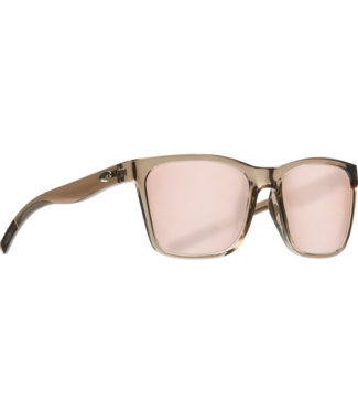 Costa Del Mar Panga Shiny Taupe Crystal 580P Sunglasses