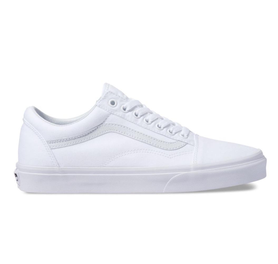 Vans Old Skool Canvas True White Shoe