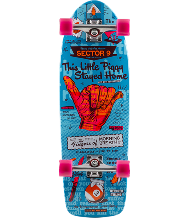 "Sector 9 Heffer Morning Breath 30"" Cruiser Longboard"