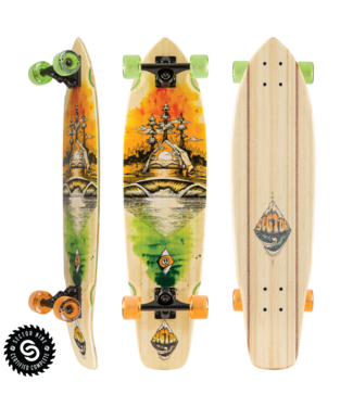 "Sector 9 Odyssey Ft. Point 34"" Longboard"