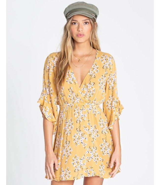 feca186c234 Billabong Love Light Mini Golden Hour Dress - Drift House Surf Shop