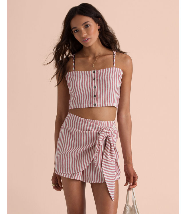 bcd8b3189d4 Billabong Sincerely Jules Straight To It Red Clay Crop Top - Drift ...