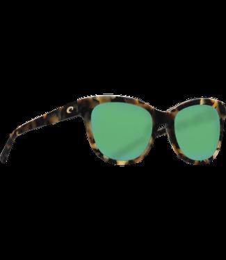a30c6990a50 Costa Del Mar Bimini Shiny Vintage Tortoise 580G Polar Sunglasses