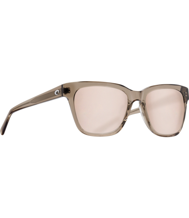 Costa Del Mar Coquina Shiny Taupe Crystal 580G Polar Sunglasses