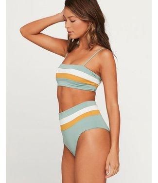L Space Portia Stripe Bikini Bottom