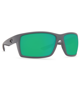 Costa Del Mar Reefton Matte Grey 580P Sunglasses