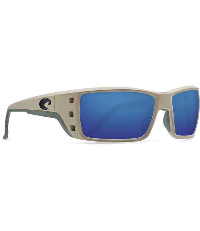 5c47cd52d5 Costa Del Mar Permit Matte Sand Blue Mirror 580G Sunglasses - Drift ...
