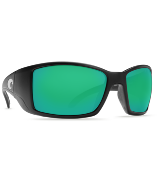 Costa Del Mar Blackfin Matte Black 580P Sunglasses