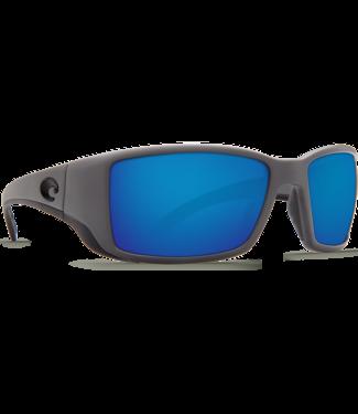 Costa Del Mar Blackfin Matte Gray 580P Sunglasses