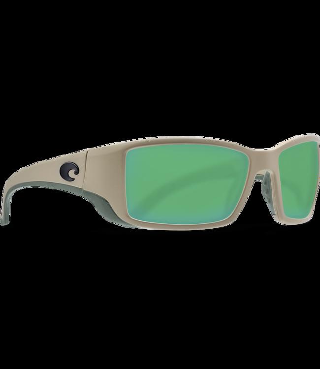 d4512fa6b54dd Costa Del Mar Blackfin Matte Sand Green Mirror 580G Sunglasses ...