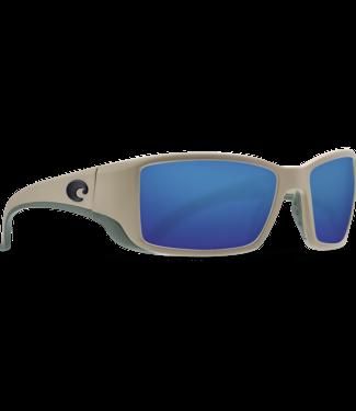 Costa Del Mar Blackfin Matte Sand 580G Sunglasses