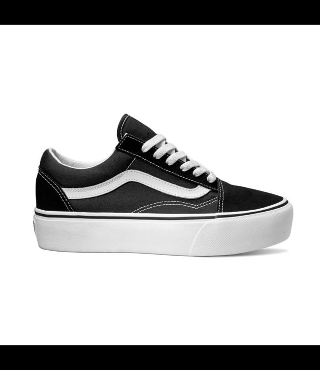 9aeb17acbc Vans Old Skool Platform Black  White Skate Shoe - Drift House Surf Shop