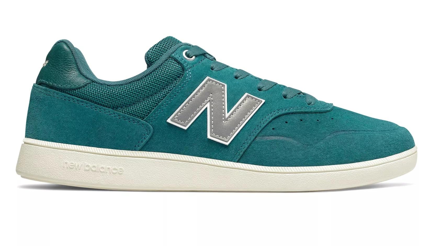 New Balance Numeric 288 Green Grey Skate Shoes