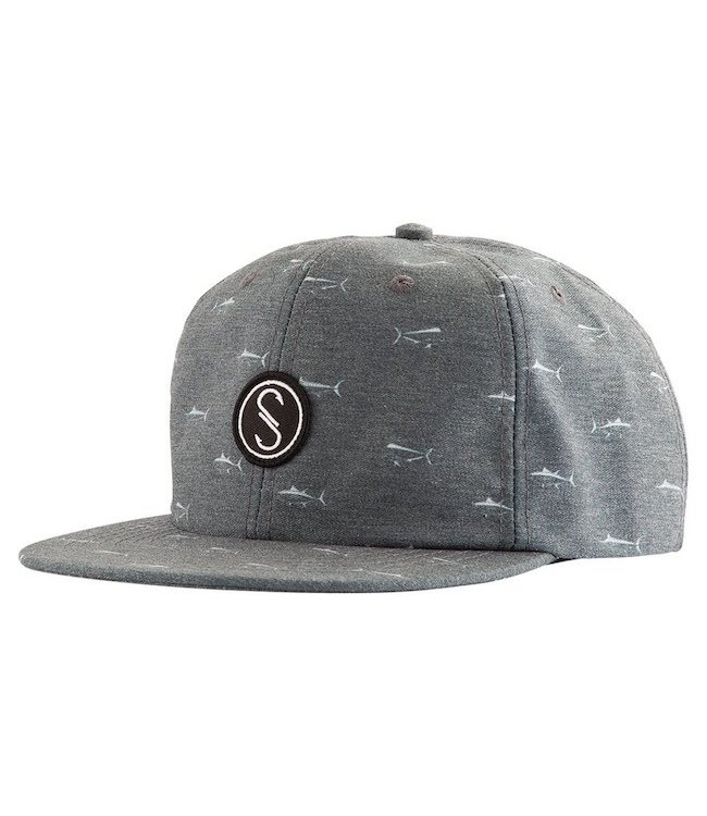 Salty Crew Mariner 6 Panel Snapback Hat