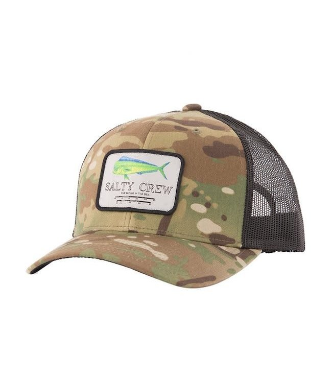 Salty Crew Mahi Mount Retro Trucker Hat