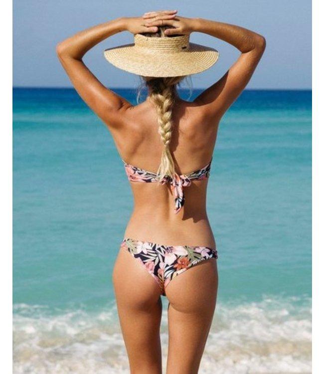 Billabong Wild Tropic Tanga Reversible Bikini Bottoms