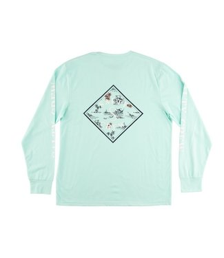 Salty Crew Tippet Fill Long Sleeve Tech Tee