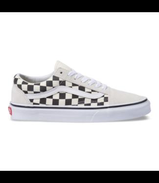 Vans Old Skool White Checkerboard Shoes