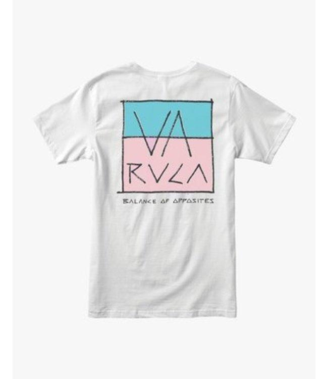 RVCA Split Scrawl Short Sleeve T-Shirt