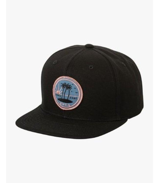 RVCA Tropics Snapback Hat