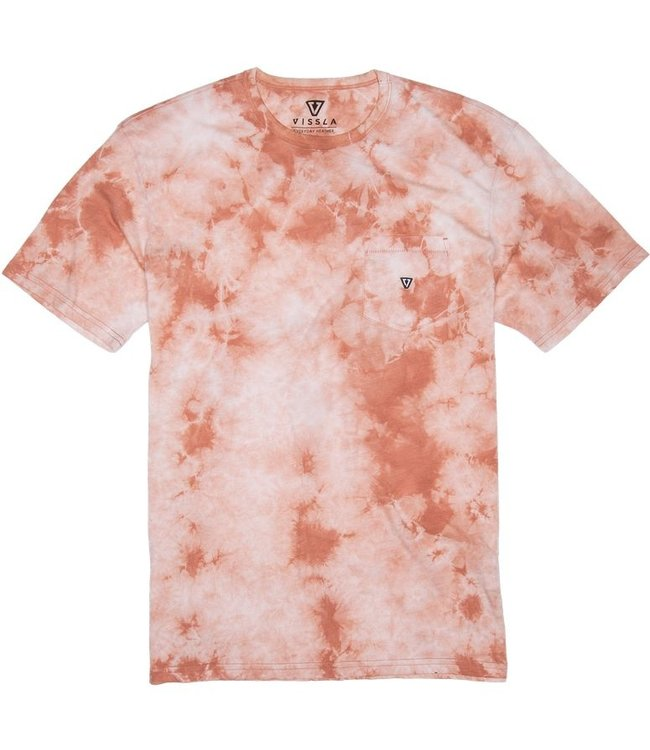 VISSLA Calipher Embroidered Tie Dye T-Shirt