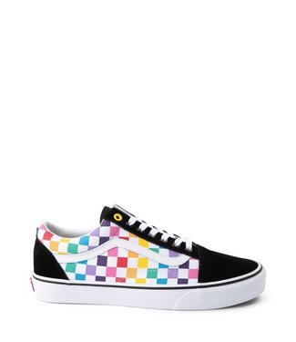 Vans Old Skool Rainbow Checkerboard Shoes