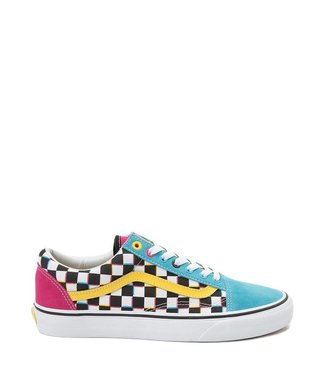 Vans Old Skool Crazy Check Skate Shoes