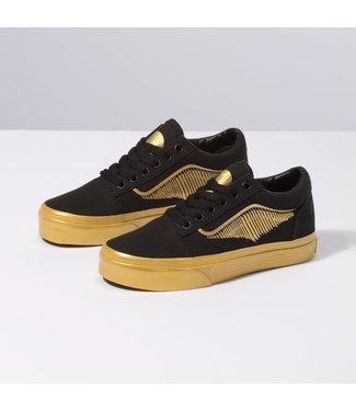 Vans Harry Potter Golden Snitch Kids Old Skool Shoes
