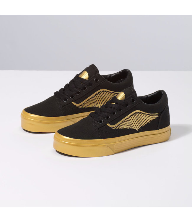 Vans Harry Potter Golden Snitch Kids Old Skool Shoes