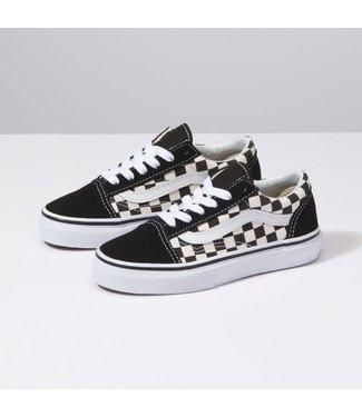 Vans Kids Old Skool Primary Check Shoes
