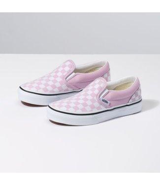Vans Kids Slip On Checkerboard Shoes
