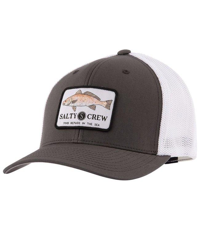 buy online fc7db 32447 Salty Crew Spot Tail Charcoal Retro Trucker Hat