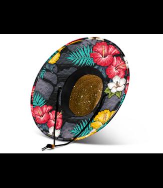 Hemlock Hat Co. Kali Hibiscus Straw Hat