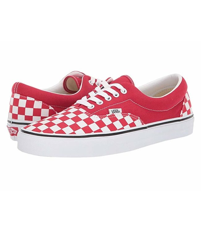 Shop \u003e red checkerboard vans lace up
