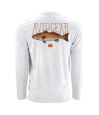 Avid Trophy Redfish AVIDry Long Sleeve Shirt