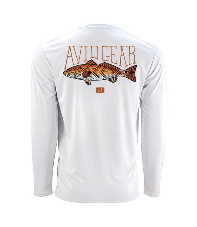Avid Trophy Redfish AVIDry Long Sleeve Shirt