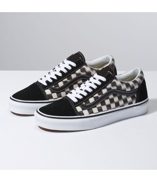 Vans Old Skool Blur Check Shoes