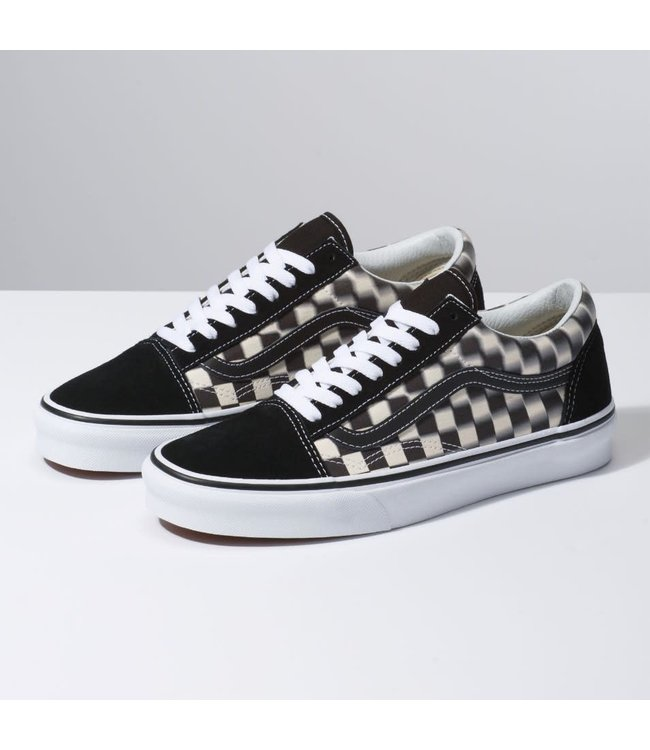 Vans Old Skool Blur Check Shoes