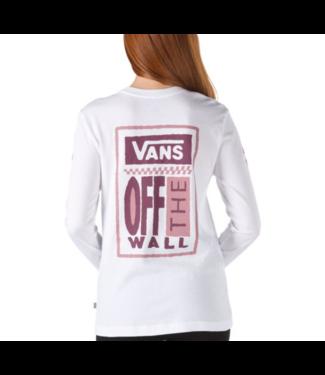 Vans Big Ticket Long Sleeve Boyfriend Shirt