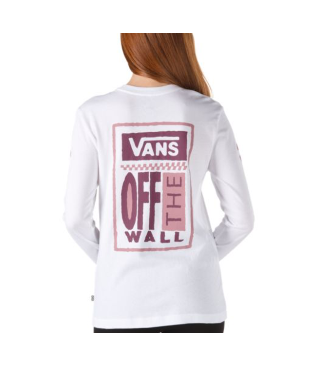 Vans Big Ticket Long Sleeve Boyfriend Shirt
