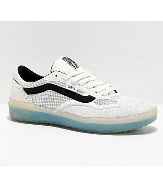 Ave Pro White Skate Shoe