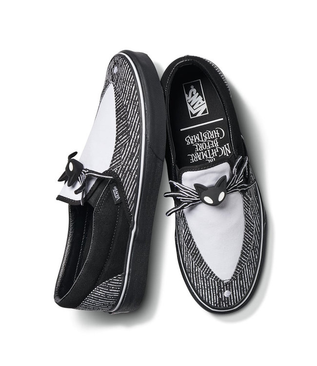Vans x Nightmare Before Christmas Jack Slip On Shoes Drift