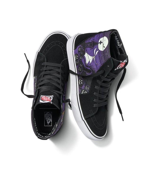 Vans x Nightmare Before Christmas Jack's Lament Sk8 Hi Shoes
