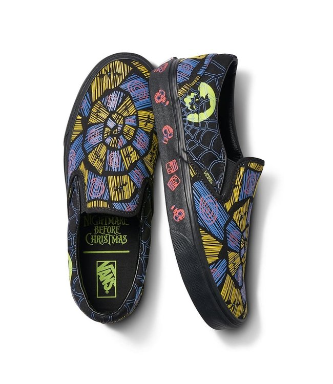 Vans x NBC Oogie Boogie Classic Slip-On Shoes