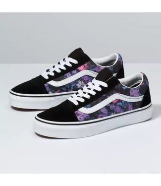 Vans Old Skool Warped Floral Shoes