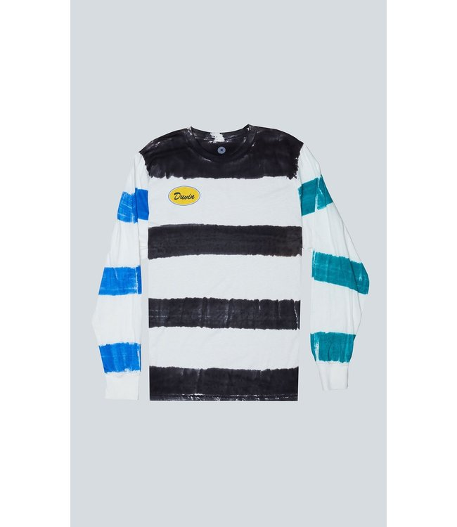 Duvin Design Co. Side Stripe Long Sleeve T-Shirt
