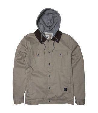 VISSLA Distortion Hooded Jacket