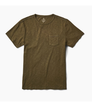 Roark Revival Well Worn Midweight Knit Pocket T-Shirt