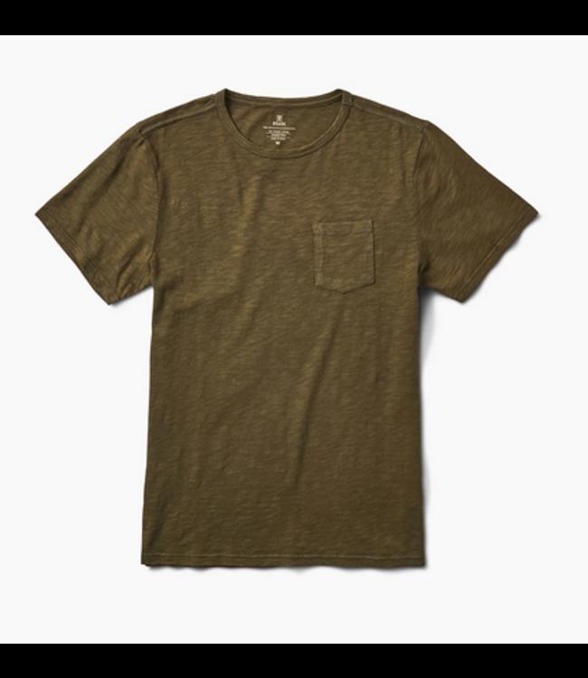 Roark Revival Well Worn Midweight Knit Pocket T-Shirt