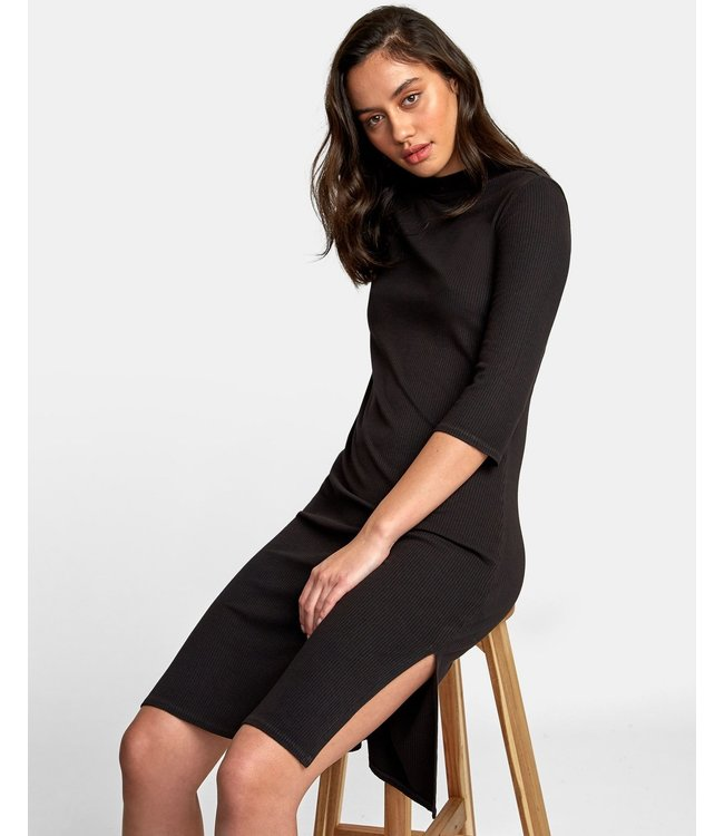 RVCA Cobra Ribbed Dress